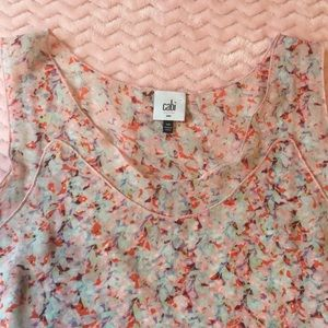 CAbi Tops - Cabi sleeveless tiered blouse